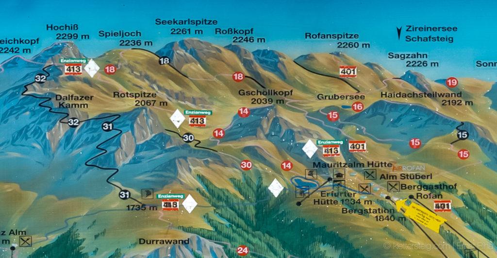 Klettersteig Achensee : Achensee klettersteige gipfel klettersteig