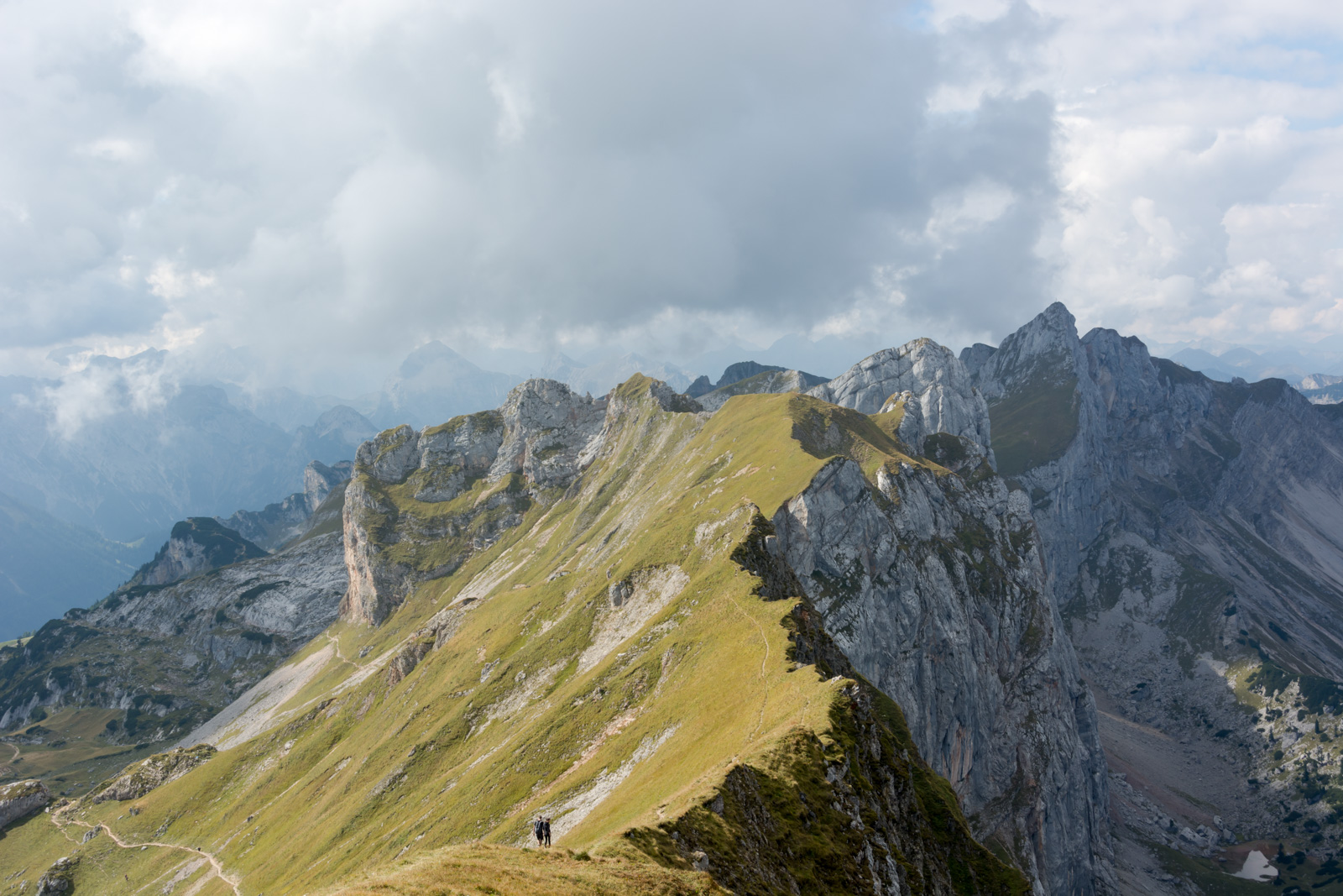 ein Teil der 5 Gipfel